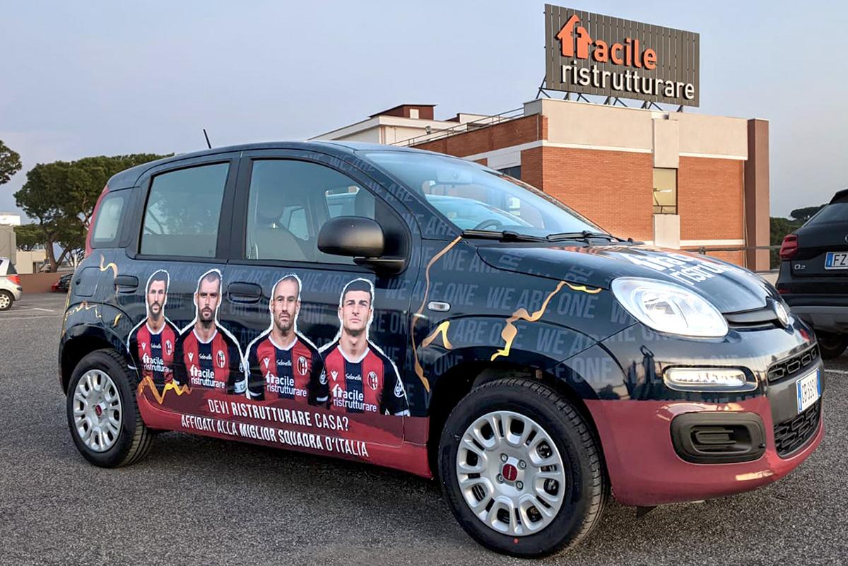 Panda brand Bologna FC 1909 Facile Ristrutturare