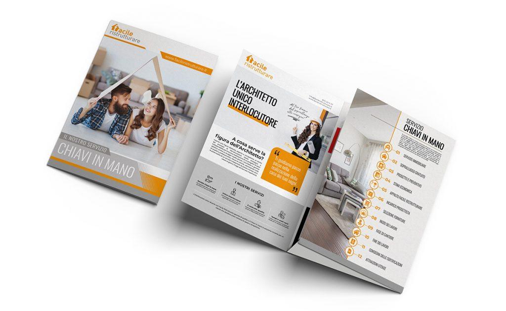 Brochure cartacee Facile Ristrutturare